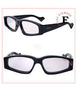 GUCCI 0705 Black Silver Mirrored Slim Rectangular Sunglasses GG0705S 002... - $282.15