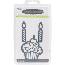 Embossing Essentials Dies Cupcake and Candles - $15.00