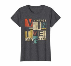 Uncle Shirts -   JUNE Retro Vintage 1929 Aged 89 Years Old Being Awesome... - $19.95+
