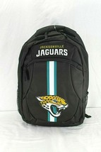 Jacksonville Jaguars NFL Backpack Black FOCO Action - $34.99