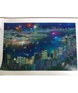 Alexander Chen Hong Kong Hand Signed Limited Edition Seriolithograph on ... - $121.54