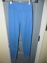 Lularoe Tween Heather Blue Leggings EUC - $18.17