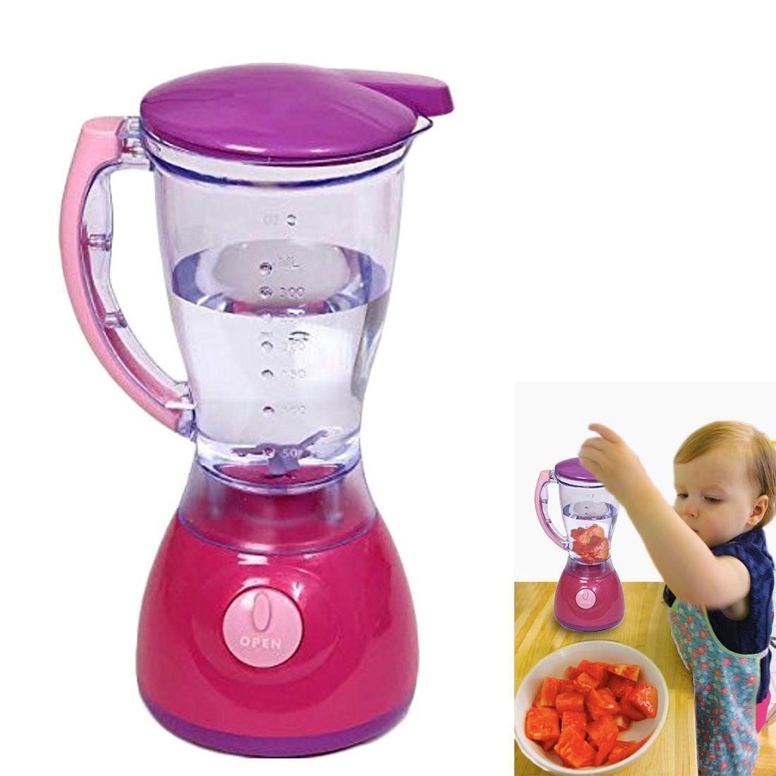 Dazzling Toys Kids Pretend Play Kitchen Food Blender Colorful Lights  Sound Set for sale  USA