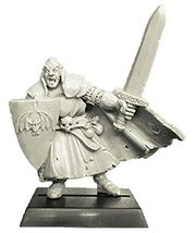 Spellcrow 28mm Fantasy Miniatures: Vampire with Sword and Shield