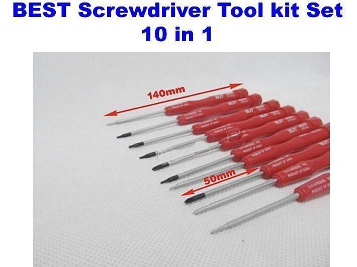 Cellphone Repair Screwdriver Tool Set Kit T3 T4 T5 T6 Y 2.5 PH0 #00 000 1.2 2.0