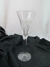 Waterford Fluted Champagne Millennium Series Love Hearts Cuts Stem Signed - $94.99