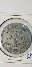 Rare LS Cellon Alachua County FL token 50cent trade Lot# JD3 image 2