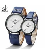 SK® Watches Quartz Men's Ladies Wrist Watches Analog Blue Fashion Simple... - $27.80+