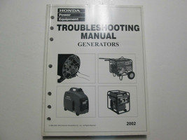 2002 Honda Generators Troubleshooting Shop Manual Factory OEM Book Used 02 - $19.76