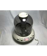 VINTAGE SOUNDESIGN '80s ULTRASONIC HUMIDIFIER 1866 FLYING SAUCER SHAPED - $84.14