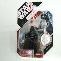 2007 Star Wars 30th Anniversary DARTH VADER Figure #16 A New Hope w/ Coin image 3