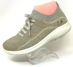 Skechers Womens Ultra Flex Tan Gold Air Cooled Slip On Sneaker Shoes Sz 7 12843 - $33.24