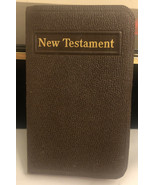 Pocket New Testament  New York: American Bible Society - $73.87