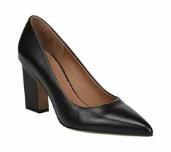 Women's Sarto by Franco Sarto Sasha Pump Black Butter Nappa Leather - $94.71