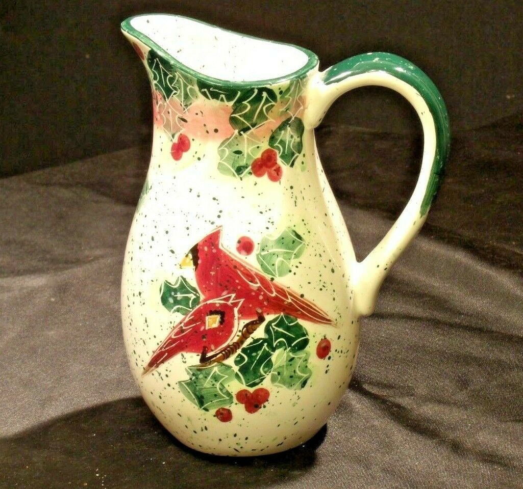 1999 Julie Ueland Enesco Pitcher (Pottery) AA19-2063 Vintage
