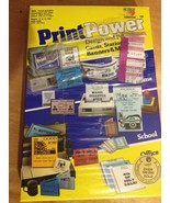 Vintage Design Print Software Print Power Vintage Software 1987 - $49.49