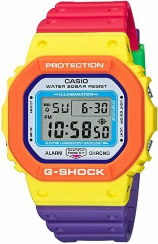 Primary image for Casio G-Shock Psychedelic DW5610DN-9 Multi-Color Men's Wristwatch 2020 New