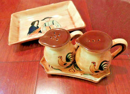 Pennsbury Pottery Morrisville Pa, 1950s Salt & Pepper Shaker Made in USA... - $32.73
