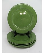 Pier 1 Toscana Green Hand painted Earthenware Dinner Plate 10.5'' Italy ... - $32.33