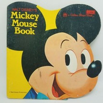LOT OF 3 Golden Shape Books,:BAMBI, MICKEY MOUSE PETER PAN 1960's Walt D... - $19.95