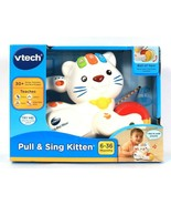 1 Count Vtech Pull & Sing Kitten Teaches 30 Plus Songs Melodies Sounds &... - $37.99