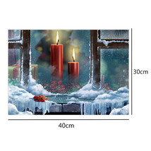 (17)DIY 5D Diamond Embroidery Painting Pink Rose Flower Painting Cross S... - $18.00