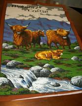 LOT 2  Vintage NWOT  Cotton Kitchen Tea  Towel UK souvenir image 2