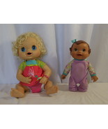 Baby Alive 2010 Blonde Hair Blue Eyes Interactive Doll + Bouncin' Babbles - $28.72