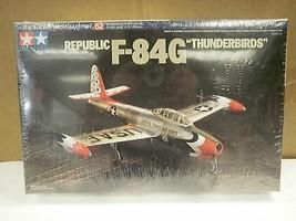 "Nouveau Modèle Tamiya Kit 60762 Republic F- 84g "" Thunderbirds "" - 1: 72... - $15.34"