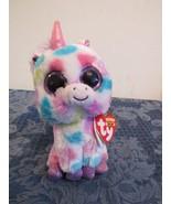"""TY Beanie Boo Wishful Unicorn 6"""" 2014 - $6.05"""