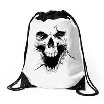 Skull Ghosts Drawstring Bags - $30.00