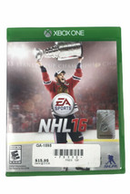 NHL 2016 XBOX ONE Microsoft Disk With Case No Manual - $10.39