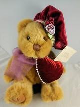 """8"""" Russ Bears from the Past Dutchess w Victorian  Hat & Heart Pillow Min... - $14.84"""