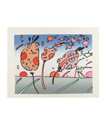 """Summer Season II"" by Peter Max Signed Embossed Serigraph on Paper LE of... - $2,187.41"