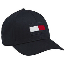 Tommy Hilfiger Men's Embroidered Flag Logo Hat Baseball Dad Cap AMH5001413 image 2