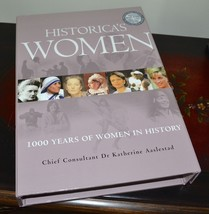 NEW Historica's Women 1000 Years of Women in History Hardcover Book w/Ca... - $18.69