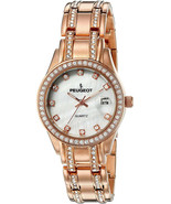 Peugeot Women's 'Crystal' Quartz Metal And Stainless Steel Dress Watch, ... - $229.18