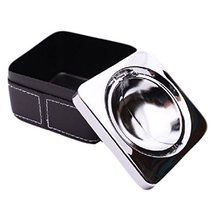 Creative Personality Fashion Stainless Steel With Cover The Ashtray(834B... - $17.27
