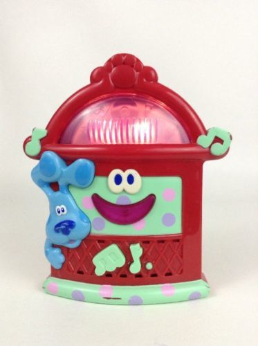 Blue's Clues Boogie Woogie Jukebox Talking Musical Light-Up Toy w/ Batteries