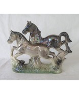 Horses Figurine, Mother of Pearl, Japan - $14.00