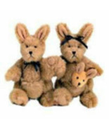 "Boyds Bears ""Joey and Alice Outback"" 3.5"" Plush Kangaroos #568007-Noah Ark-2002 - $19.99"
