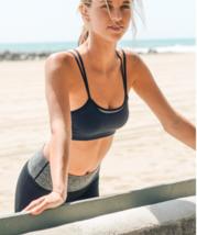 Black Double Layer Sports / Yoga Bra - $44.91