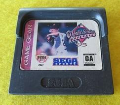 World Series Baseball '95 (Sega Game Gear, 1994) - $1.24