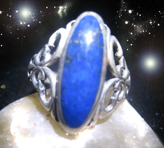 HAUNTED RING ANCIENT WIZARD'S TRANSMUTE DARK TO LIGHT SECRET RARE OOAK MAGICK - $8,997.77