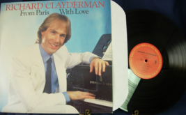 Richard Clayderman - From Paris With Love - Columbia Records FC40174  - $6.00
