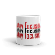 Stay Focused 3D Patter Sayings Quotes Funny Focus Coffee Mug - $14.85+