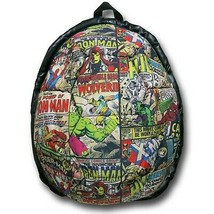 Marvel Comic Sublimated Dome Backpack White - $71.98
