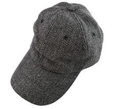 BROOKS BROTHERS  Herringbone Wool Blend Logo, Baseball Hat Size  S/M , L/XL - $32.57
