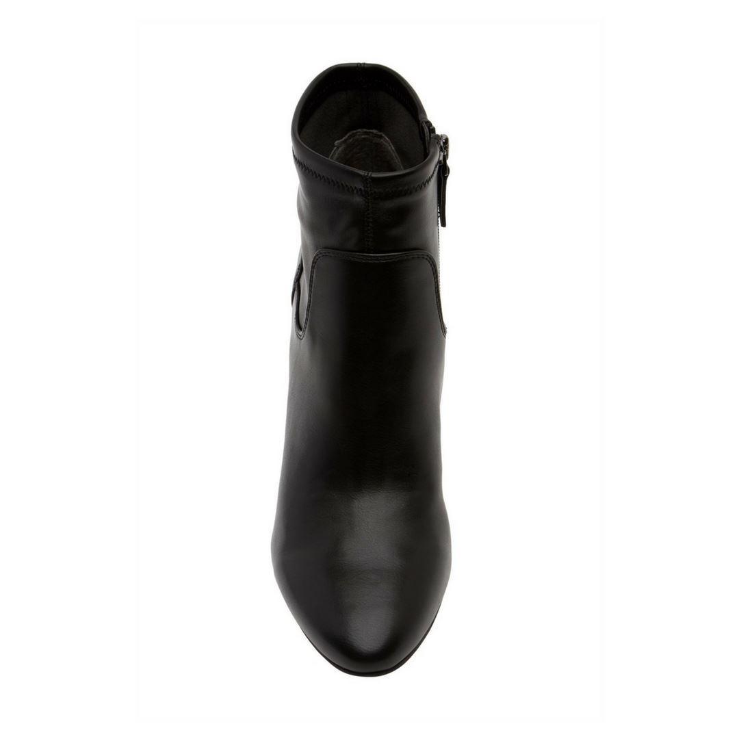 SARTO BY FRANCO SARTO– Black Francie Stacked Heel Bootie