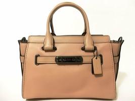Coach Leather Swagger 27 Handbag Beechwood - $345.64